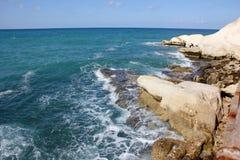 Kust van de Middellandse Zee Royalty-vrije Stock Afbeelding