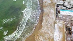 Kust van de Zwarte Zee stock footage