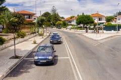 Kust van Estoril, Portugal stock foto's