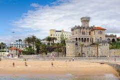Kust van Estoril, Portugal royalty-vrije stock fotografie