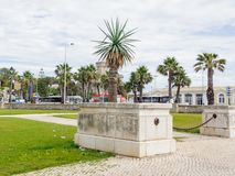 Kust van Estoril, Portugal stock afbeelding