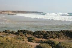 Kust van Fuerteventura royalty-vrije stock afbeelding