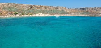 Kust van het eiland Gramvousa Royalty-vrije Stock Fotografie