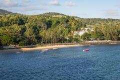 Kust van het eiland van Mauritius Royalty-vrije Stock Afbeeldingen