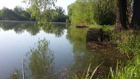 Kust van het meer, de vroege lente Royalty-vrije Stock Afbeelding