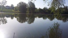 Kust van het meer, de vroege lente Royalty-vrije Stock Foto