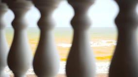 Kust van het Overzees van Azov stock video