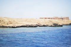Kust van het Rode overzees Stock Foto