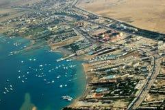 Kust van Hurghada Royalty-vrije Stock Afbeelding