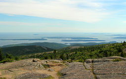 Kust van Maine Royalty-vrije Stock Fotografie