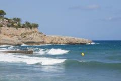 Kust van Mallorca Stock Afbeeldingen