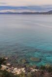 Kust van Meer Tahoe royalty-vrije stock afbeeldingen