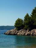 Kust van Montenegro Stock Afbeelding