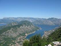 Kust van Montenegro stock foto