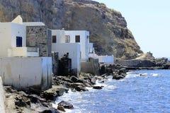 Kust van Nisyros-Eiland Royalty-vrije Stock Fotografie