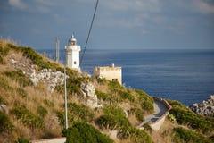 Kust van Sicilië Royalty-vrije Stock Foto's