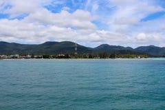 Kust van tropisch eiland Royalty-vrije Stock Fotografie