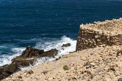 Kust- Waterscape Arkivfoto