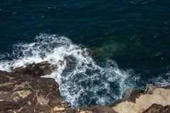 Kust- Waterscape Arkivfoton