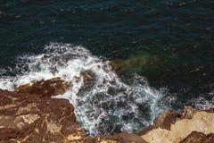Kust- Waterscape Arkivbild