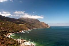 Kust in Zuid-Afrika Royalty-vrije Stock Afbeeldingen
