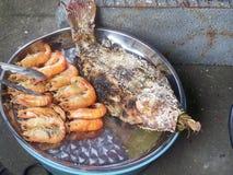 Kustatmosfär och skaldjuret Royaltyfri Fotografi