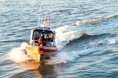 Kustbevakning Gunboat Royaltyfri Bild