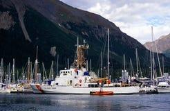 kustbevakning oss Royaltyfri Bild