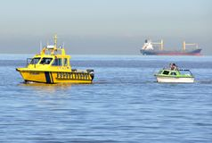 Kustbevakning Rescue Arkivbild