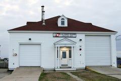 Kustbevakning Station, punkt Judith, Rhode - ö Royaltyfri Foto