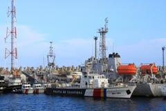 Kustbevakningfartyg royaltyfri fotografi