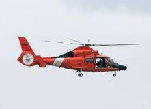 kustbevakninghelikopter Arkivbilder