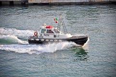 kustbevakningpatrull royaltyfria bilder