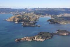 kustcoromandel New Zealand Arkivfoton