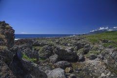 Kusten av ön Royaltyfria Foton
