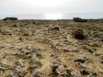 Kusten av Cypern Arkivbilder