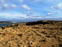 Kusten av Cypern Arkivfoto