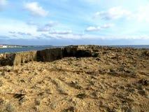 Kusten av Cypern Fotografering för Bildbyråer