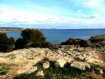 Kusten av Cypern Royaltyfri Bild