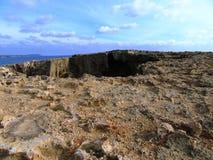 Kusten av Cypern Royaltyfri Foto
