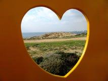 Kusten av Cypern Royaltyfria Foton