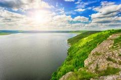 Kusten av floden Arkivbild