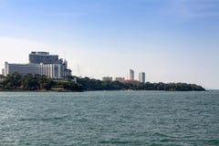 Kusten av Pattaya Arkivfoton