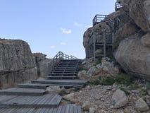 Kusten på den Mallorca ön Royaltyfri Foto