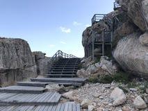 Kusten på den Mallorca ön Arkivfoto