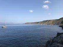 Kusten på den Mallorca ön Royaltyfri Fotografi
