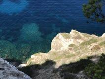 Kusten på den Mallorca ön Fotografering för Bildbyråer