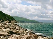 Kusten van Kaap Breton stock afbeelding