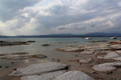 Kuster av sjön Garda Royaltyfria Foton