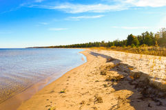 Kusterna av Lake Huron Royaltyfria Bilder